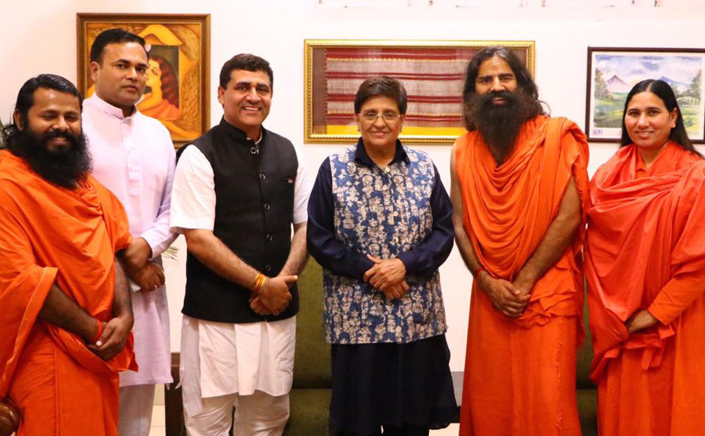 Chairman, GC attends Yoga Shibir in Puducherry, meets UT Chapter Committee Members