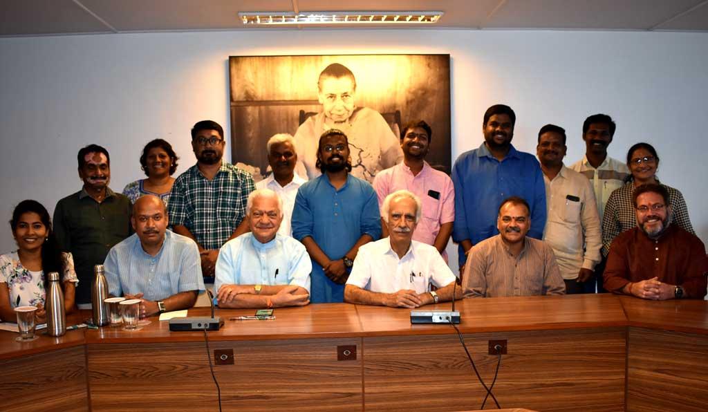 Puducherry UT State Chapter meets at Sri Aurobindo Society
