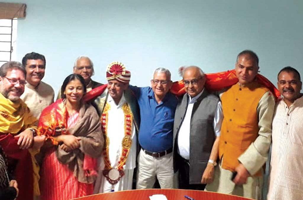 IYA Executive Council Members meet, during INCOFYRA