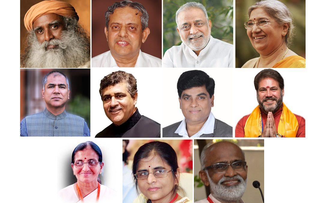 IYA Gurus and Acharyas participate in PGIMER CYE