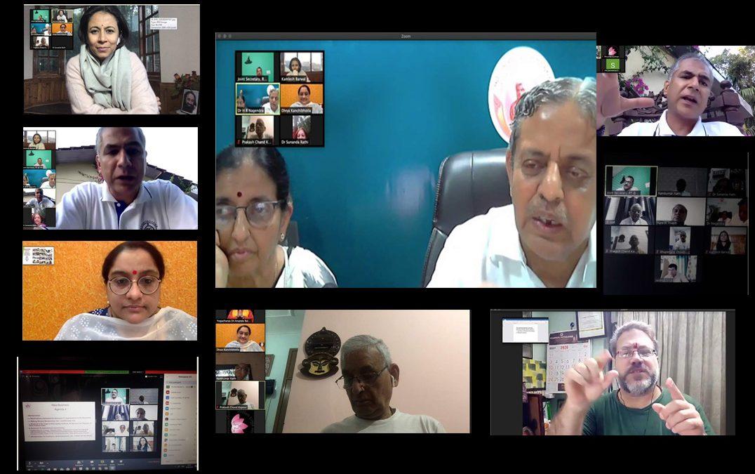 EC Members meet to discuss IYA Standing Committees