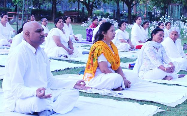 6th IDY at Bharatiya Yog Sansthan, Delhi