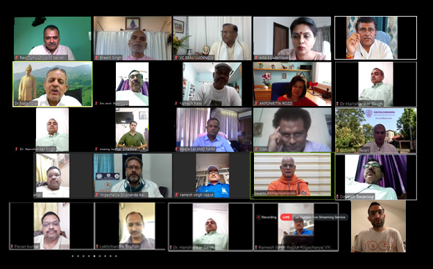 IYA & BBAU organizes webinar on 'Yoga for Better Life'