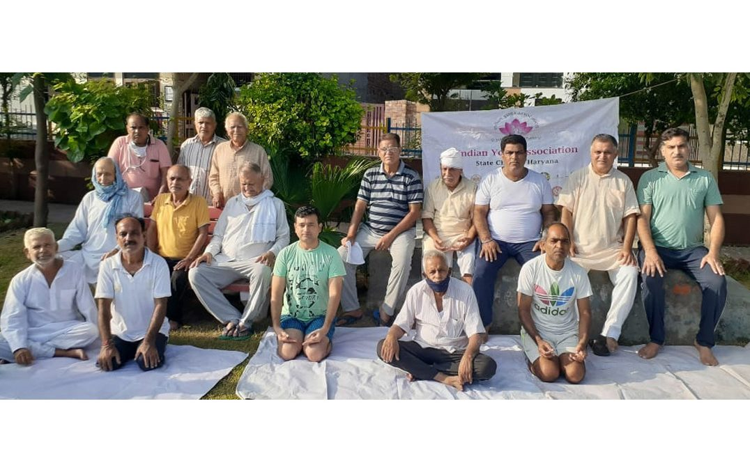 Haryana State Chapter holds Webinar on Importance of Yoga