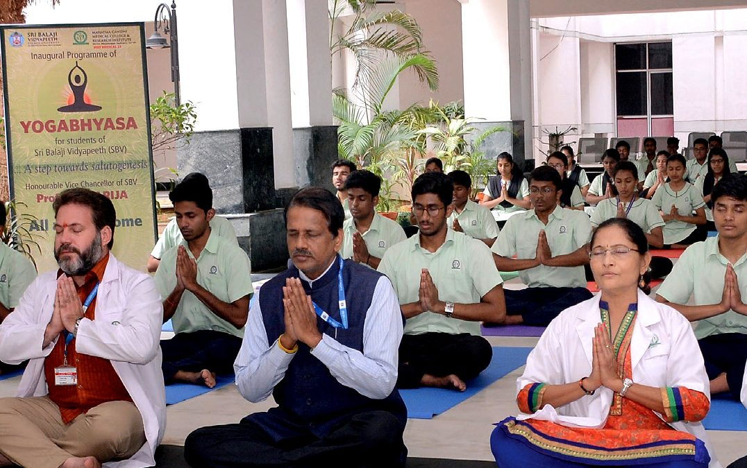 Integrating Yoga in Health Professions Education